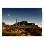 Notecard Superstition Mountains Arizona
