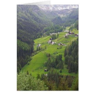 Notecard - The Dolomites, Italy