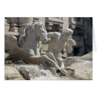 Notecard - The Treve Fountain in Rome