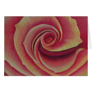 Notecard: Un rosa es un color de rosa Tarjeta Pequeña
