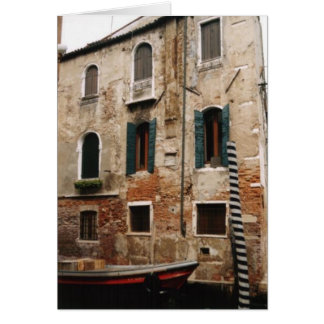 Notecard v2 de Venecia Tarjeta Pequeña