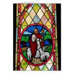 Notecard: Ventana en la iglesia metodista, Longton Felicitaciones