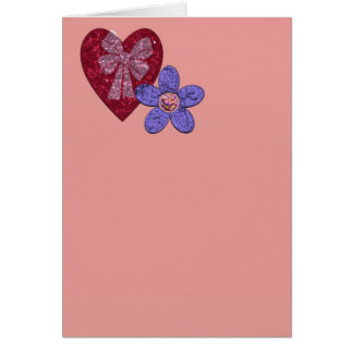 NoteCard Vertical Stationery Note Card