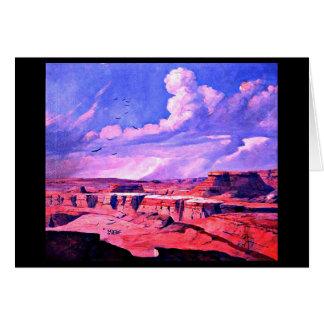 Notecard-Vintage Dallas Artwork-Frank Reaugh 8 Card