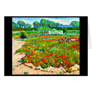 Notecard-Vintage Dallas Artwork-Lucien Abrams 1 Stationery Note Card
