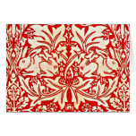 Notecard-Vintage Fabric/Fashion-William Morris 11 Card