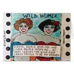 NOTECARD-WILD WOMEN CARD