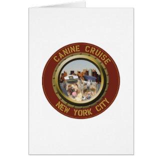 Notecards Canine Cruise Logo Card