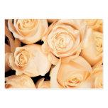 Notecards de los rosas del boda tarjetas personales