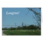 Notecards: Longton, Kansas Felicitacion