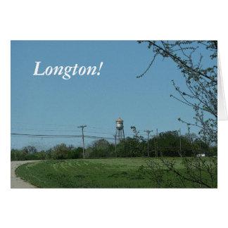 Notecards: Longton, Kansas Tarjeta Pequeña