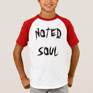 Noted Soul Facts Kids Tee