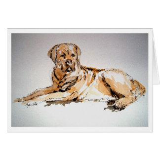 Notelets - Family Dog Card
