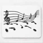 Noten, Musik Mousepad