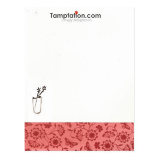 notepad_cup_flower postal
