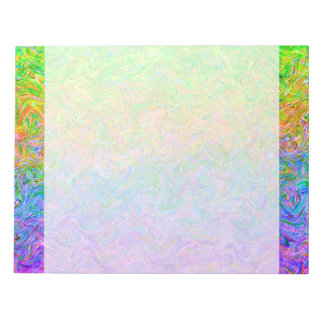 Notepad Fluid Colors