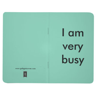 Notepad for extremely busy people journal