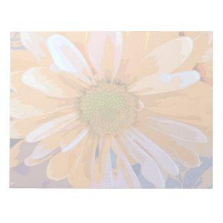 Notepad - Orange Daisy