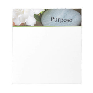 Notepad, Small - Engraved Stone, Purpose Notepad
