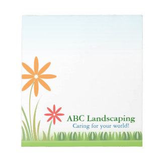 Notepad Template ABC Landscaping
