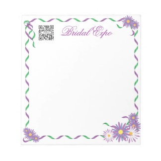 Notepad Template Bridal Expo