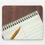 notepad with desk scratch mouse pads
