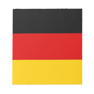 Notepad with Flag of Germany
