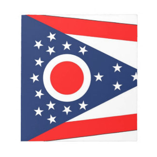 Notepad with Flag of Ohio State