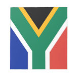 Notepad with Flag of South Africa
