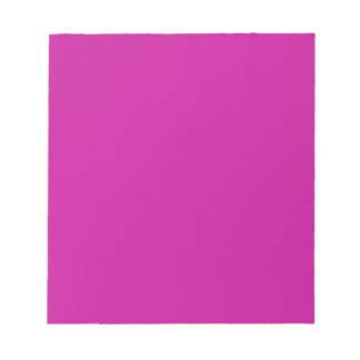 Notepad with Hot Pink Background