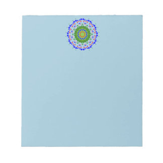 Notepad with Mandala Header