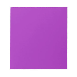 Notepad with Pastel Lavender Background