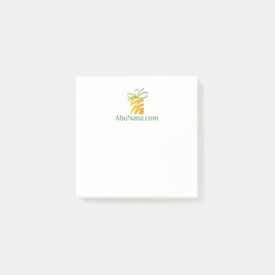 Notes AbuNana.com Logo Site