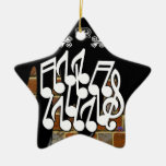 NOTES BRICK BACKGROUND PRODUCTS CHRISTMAS ORNAMENT