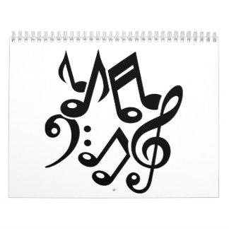 Notes classic music calendar