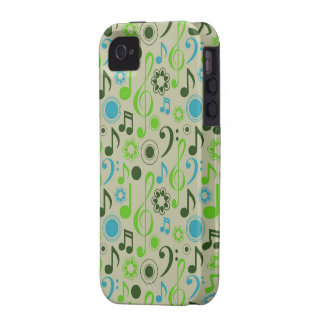 Notes & Clefs iPhone 4/4S Cases
