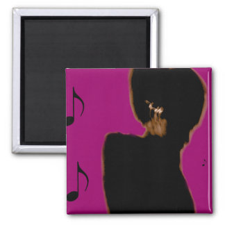 Notes in My Ears 2 Inch Square Magnet