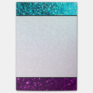 Notes Mosaic Sparkley Texture Post-It Note