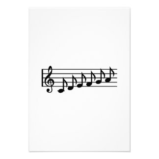 Notes music clef custom announcements