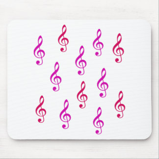 Notes - Music Mouse Pad