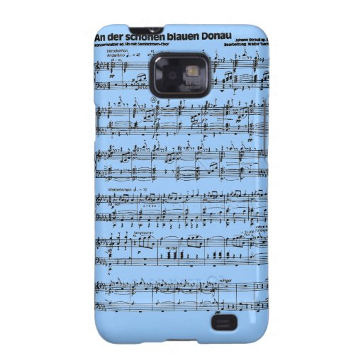 Notes of bunch galaxy s2 cover
