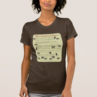 Notes on the Gentle Art of Herding Cats T-shirts