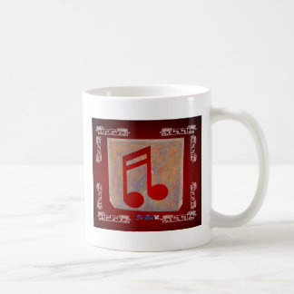 NOTES RED CUSTOMIZABLE PRODUCTS COFFEE MUGS