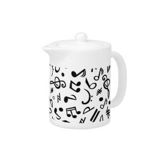 notes teapot