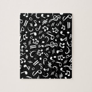 notes_white jigsaw puzzle