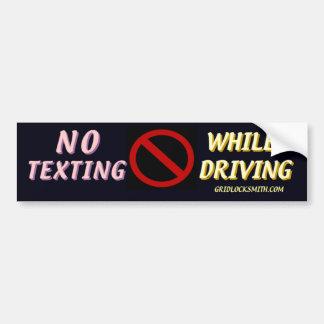 NoTextingWhileDriving Bumper Sticker