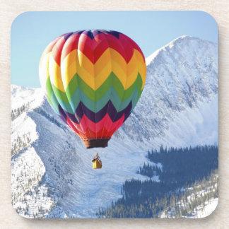 Noth America, USA, Colorado, Mt. Crested Butte, 2 Beverage Coaster