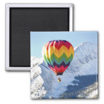 Noth America, USA, Colorado, Mt. Crested Butte, 2 Magnet