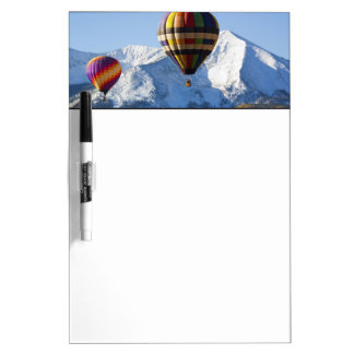 Noth America, USA, Colorado, Mt. Crested Butte, Dry Erase Board