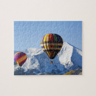 Noth America, USA, Colorado, Mt. Crested Butte, Jigsaw Puzzle